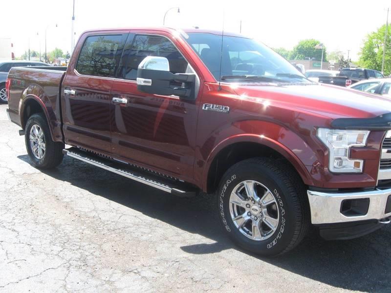 2015 Ford F-150 4x4 Lariat 4dr SuperCrew 5.5 ft. SB - Wyandotte MI