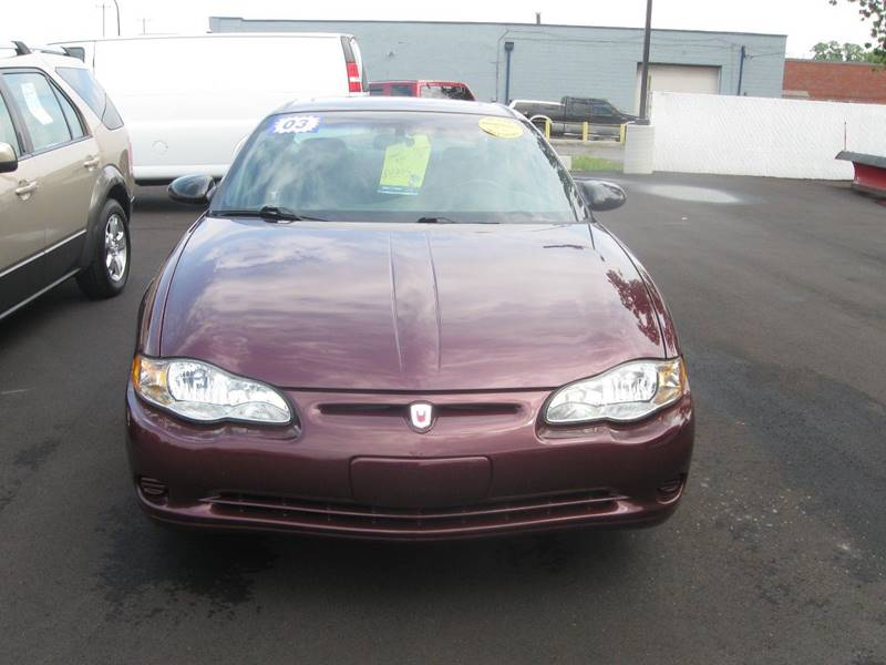 2003 Chevrolet Monte Carlo LS 2dr Coupe - Wyandotte MI