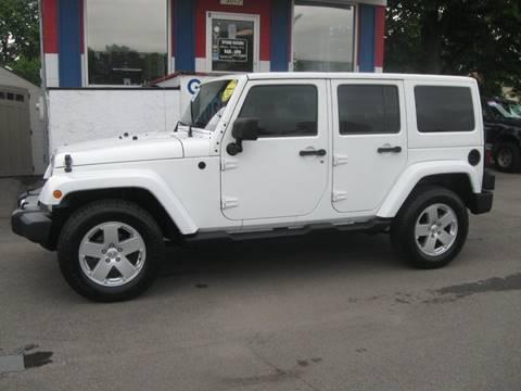 2012 Jeep Wrangler Unlimited for sale in Wyandotte, MI