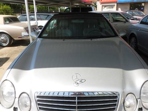 1999 Mercedes-Benz CLK for sale at FORD'S AUTO SALES in Houston TX