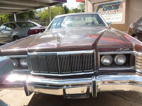 1978 Mercury Marquis for sale at FORD'S AUTO SALES in Houston TX