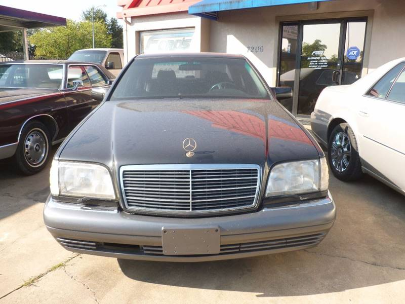 1995 Mercedes-Benz S-Class for sale at FORD'S AUTO SALES in Houston TX