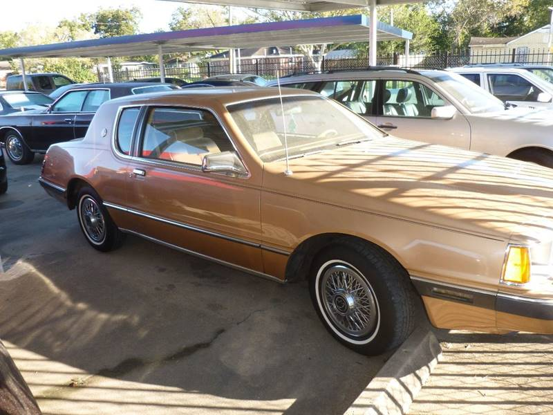 1984 Mercury Cougar for sale at FORD'S AUTO SALES in Houston TX