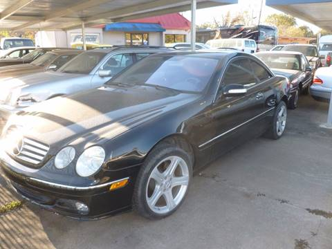 2004 Mercedes-Benz CL-Class for sale at FORD'S AUTO SALES in Houston TX