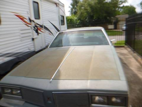 1982 Oldsmobile Delta Eighty-Eight Royale for sale in Houston, TX