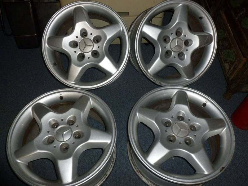 """Mercedes-Benz 15"""" Rims for sale at FORD'S AUTO SALES in Houston TX"""