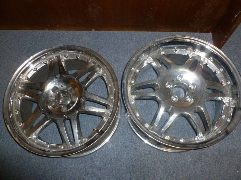 """Mercedes-Benz 20"""" Rims for sale at FORD'S AUTO SALES in Houston TX"""
