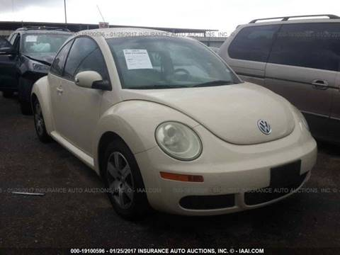 2006 Volkswagen New Beetle for sale at FORD'S AUTO SALES in Houston TX