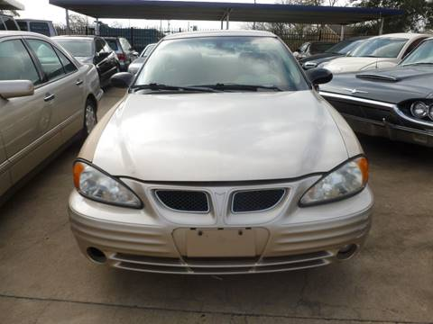 2002 Pontiac Grand Am for sale at FORD'S AUTO SALES in Houston TX