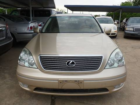 2002 Lexus LS 430 for sale at FORD'S AUTO SALES in Houston TX