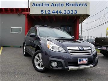 2013 Subaru Outback for sale in Austin, TX