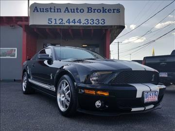 2007 Ford Shelby GT500 for sale in Austin, TX