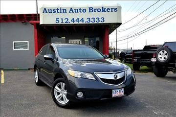 2013 Acura RDX for sale in Austin, TX