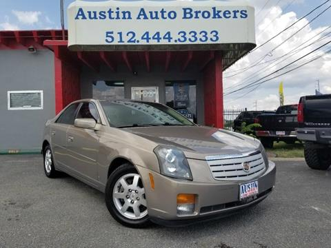 2007 Cadillac CTS for sale in Austin, TX