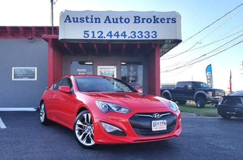 2013 Hyundai Genesis Coupe for sale in Austin, TX