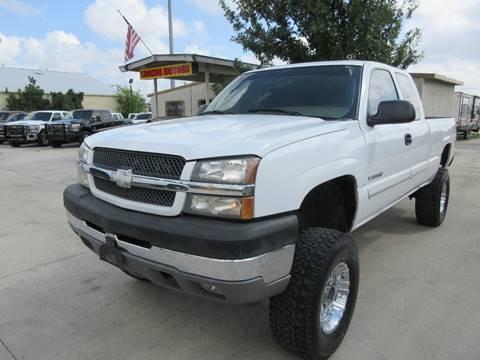 2003 Chevrolet Silverado 2500HD for sale in San Antonio, TX