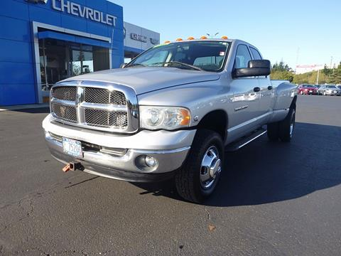 2003 Dodge Ram Pickup 3500 for sale in North Bend OR