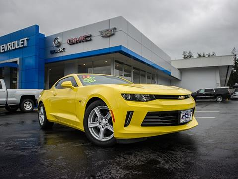 2017 Chevrolet Camaro for sale in North Bend OR