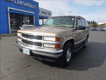 1999 Chevrolet Tahoe For Sale Casa Grande AZ  Carsforsalecom