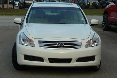 2009 Infiniti G37 Sedan for sale in Gainesville, FL