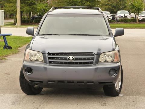 2003 Toyota Highlander for sale in Gainesville, FL