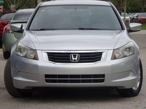 2009 Honda Accord LX-P for sale at Deal Maker of Gainesville in Gainesville FL
