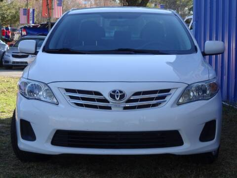 2013 Toyota Corolla for sale at Deal Maker of Gainesville in Gainesville FL
