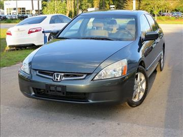 2005 Honda Accord for sale at Deal Maker of Gainesville in Gainesville FL
