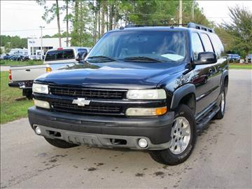 2004 Chevrolet Suburban for sale at Deal Maker of Gainesville in Gainesville FL