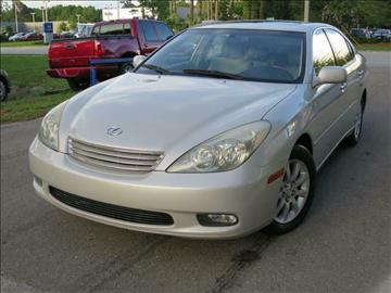 2004 Lexus ES 330 for sale at Deal Maker of Gainesville in Gainesville FL