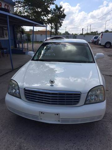 2005 Cadillac DeVille for sale in Houston, TX