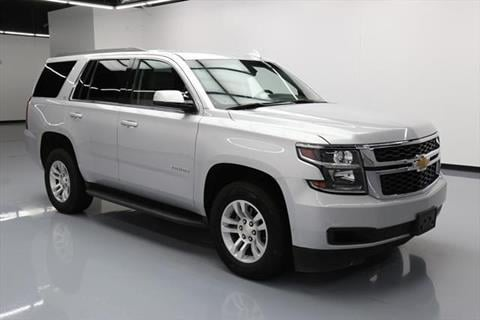 2015 Chevrolet Tahoe for sale at DUNBAR'S  AUTO/ALL CREDIT $599 DOWN in Houston TX