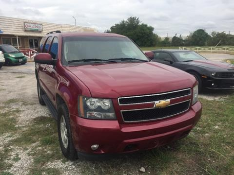 2007 Chevrolet Tahoe for sale at DUNBAR'S  AUTO/ALL CREDIT $599 DOWN in Houston TX