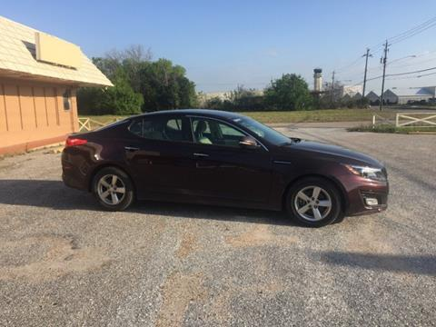 2015 Kia Optima for sale at DUNBAR'S  AUTO/ALL CREDIT $599 DOWN in Houston TX