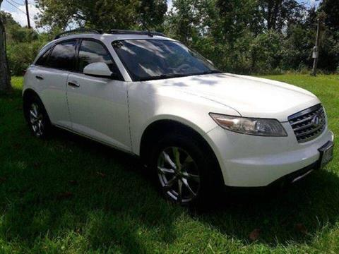2007 Infiniti FX35 for sale at DUNBAR'S  AUTO/ALL CREDIT $599 DOWN in Houston TX