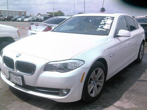 2012 BMW 5 Series for sale at DUNBAR'S  AUTO/ALL CREDIT $599 DOWN in Houston TX