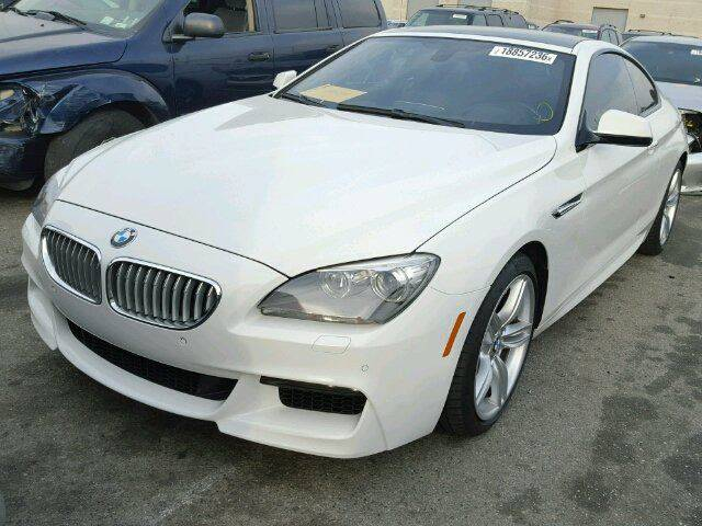 2013 BMW 6 Series for sale at DUNBAR'S  AUTO/ALL CREDIT $599 DOWN in Houston TX