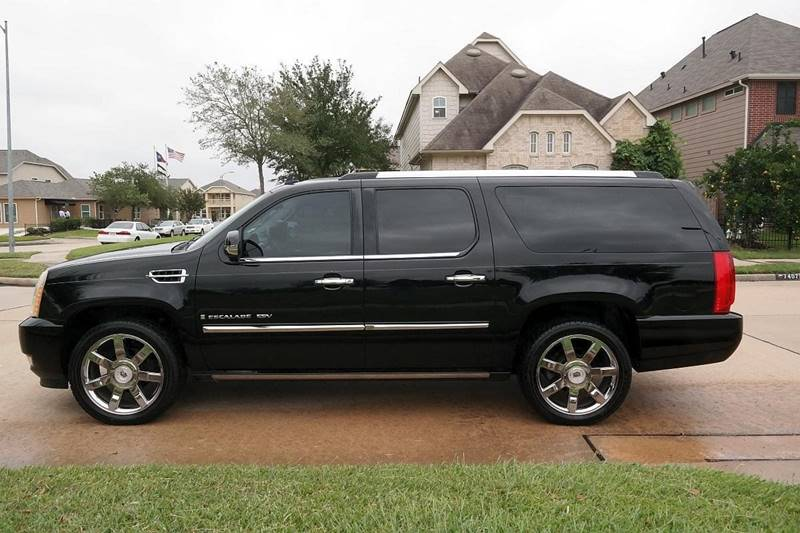 2009 Cadillac Escalade ESV for sale at DUNBAR'S  AUTO/ALL CREDIT $599 DOWN in Houston TX