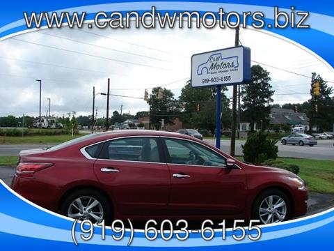 2015 Nissan Altima for sale in Oxford NC