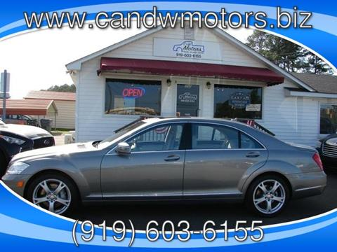 2013 Mercedes-Benz S-Class for sale in Oxford NC