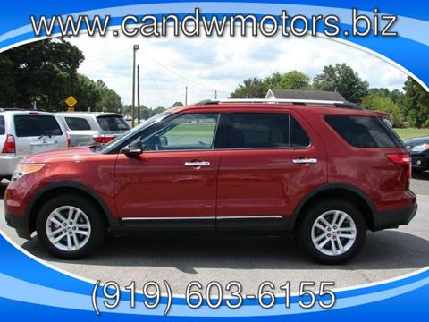 2014 Ford Explorer for sale in Oxford, NC