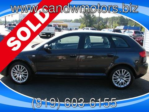 2007 Audi A3 for sale in Oxford, NC
