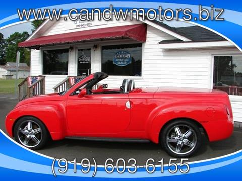 2004 Chevrolet SSR for sale in Oxford, NC