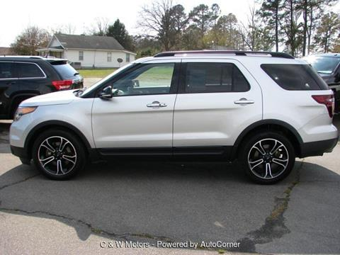 2013 Ford Explorer for sale in Oxford, NC
