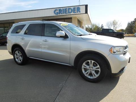 2012 Dodge Durango for sale in Belle Plaine, IA