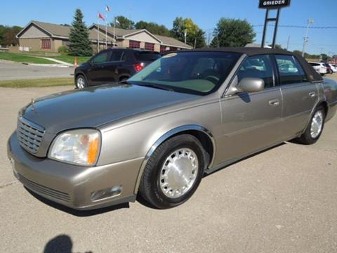 2002 Cadillac DeVille for sale in Belle Plaine, IA