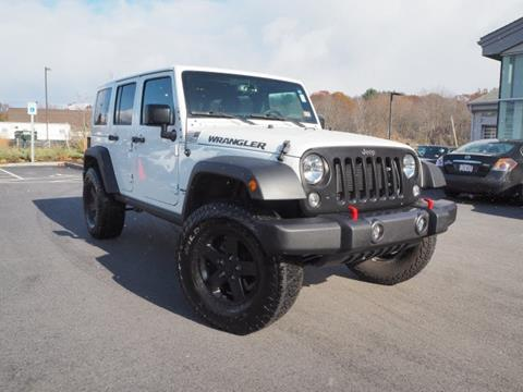 2017 Jeep Wrangler Unlimited for sale in Stratham, NH