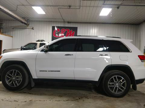 2017 Jeep Grand Cherokee for sale at C&M Auto in Worthing SD