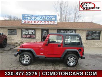 1997 Jeep Wrangler for sale in Hartville, OH