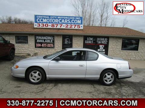2003 Chevrolet Monte Carlo for sale in Hartville, OH